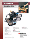 VT-Brick Pneumatic Combination Tool for Polyester Strapping