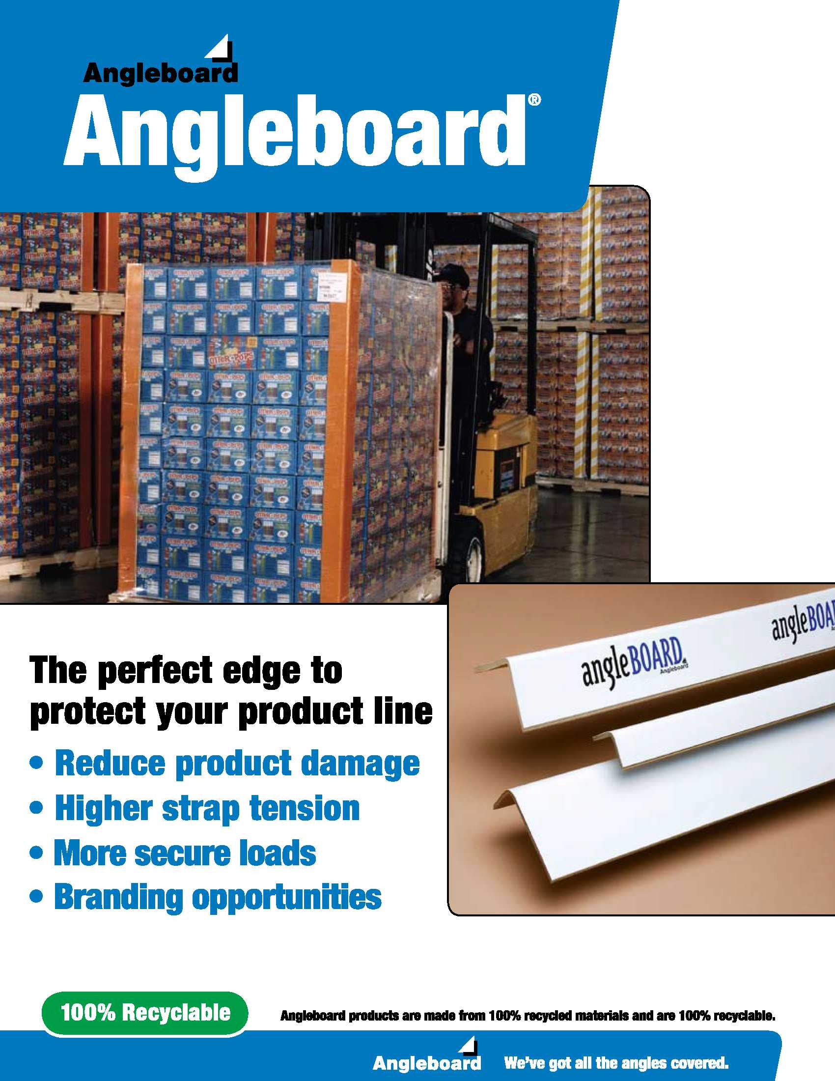 Angleboard to Protect your Shipments | Signode Canada