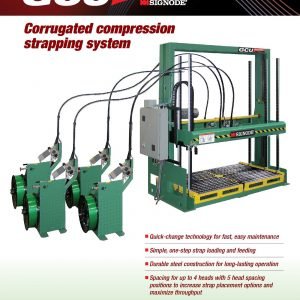 GCU SmartFlex Corrugated Compression Strapping System