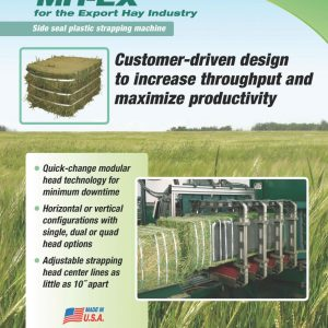 MH-EX Hay Strapping System for Fiber Bale Unitizing   Signode.ca