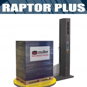 Raptor Plus Semi-Automatic Turntable Stretch Wrapping Machine