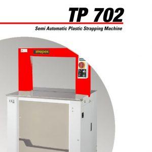 TP702 Semi-automatic Plastic Strapping Machine | Signode Canada