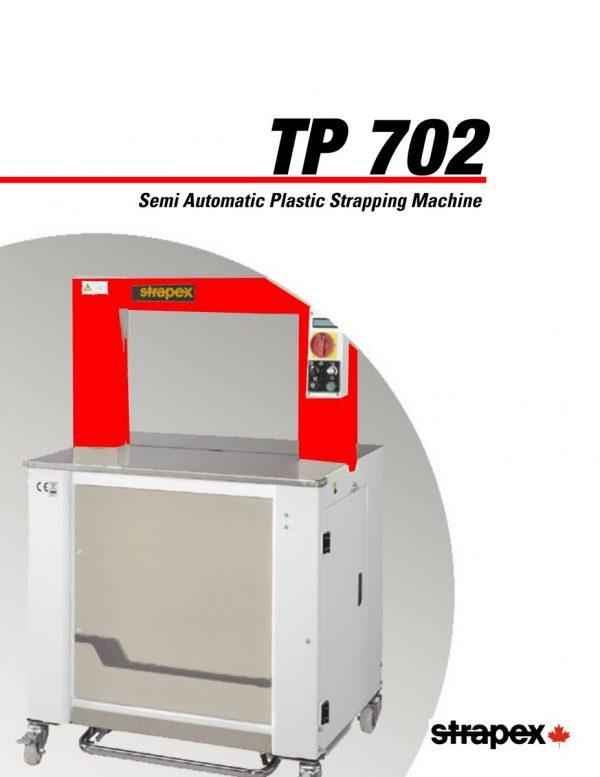 TP702 Semi-automatic Plastic Strapping Machine   Signode Canada