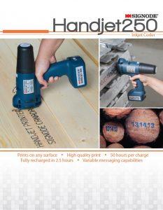 EBS250 Handjet - Signode Handjet 250