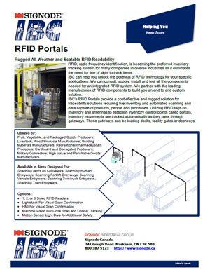 IBC RFID Portals | Signode Canada