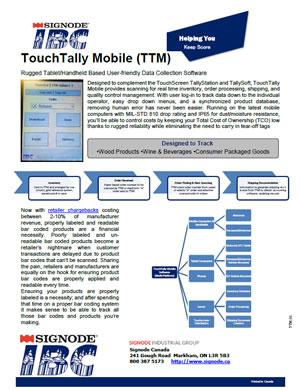 IBC TouchTally Mobile | Signode Canada