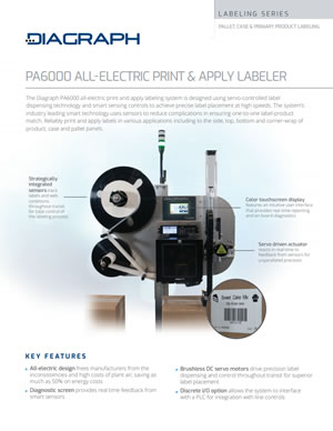 PA/6000 Diagraph Label Print Apply Systems | Signode Canada