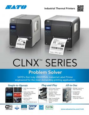 CLNX Series of Industrial Thermal Printers | Signode Canada