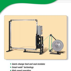 MH-11/16-HT Side Seal Plastic Strapping Machine | Signode Canada