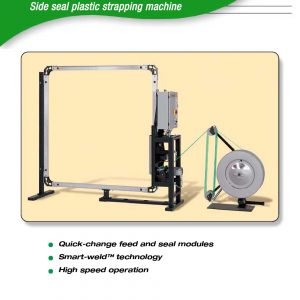 MOD-710 Side Seal Plastic Strapping Machine | Signode Canada