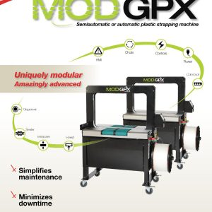 MOD-GPX Plastic Strapping Machine | Signode Canada