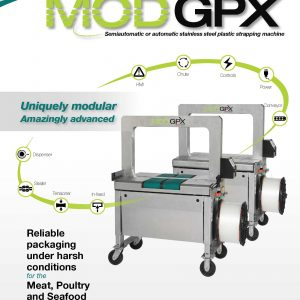 MOD-GPX Stainless Steel Plastic Strapping Machine | Signode Canada