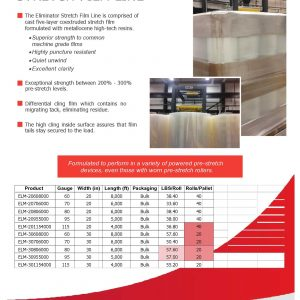 Eliminator Stretch Film Brochure | Signode Canada