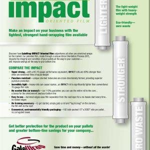 Galewrap Impact Oriented Film| Signode Canada