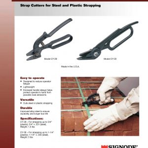 Steel and Plastic Strapping Cutters | Signode Canada